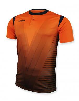 Футбольная форма Europaw 011 оранжевая, фото 2