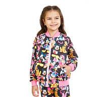 Демисезонная флисовая кофта Мики Маус для девочки 5-10 лет (размер 110-140) ТМ Kids Couture