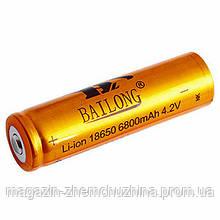 Аккумулятор Li-ion 18650 BAILONG 8800mah!Акция