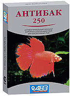 Антибактериальный иммунизирующий препарат для декоративных рыб Антибак 250, 6 табл