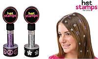 Набор Hot stamps для волос!Акция