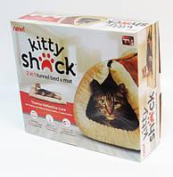 Лежак-кровать для кошки 2 in 1 Kitty Shack!Товар дня, фото 1