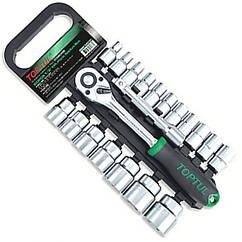 Набор инструмента TOPTUL 1/2 20ед. 8-32мм на пластиковом холдере GABB2001