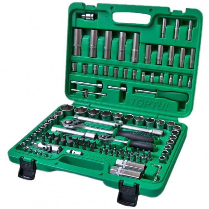 Универсальный набор инструмента TOPTUL 1/4&1/2 108ед. new box GCAI108R
