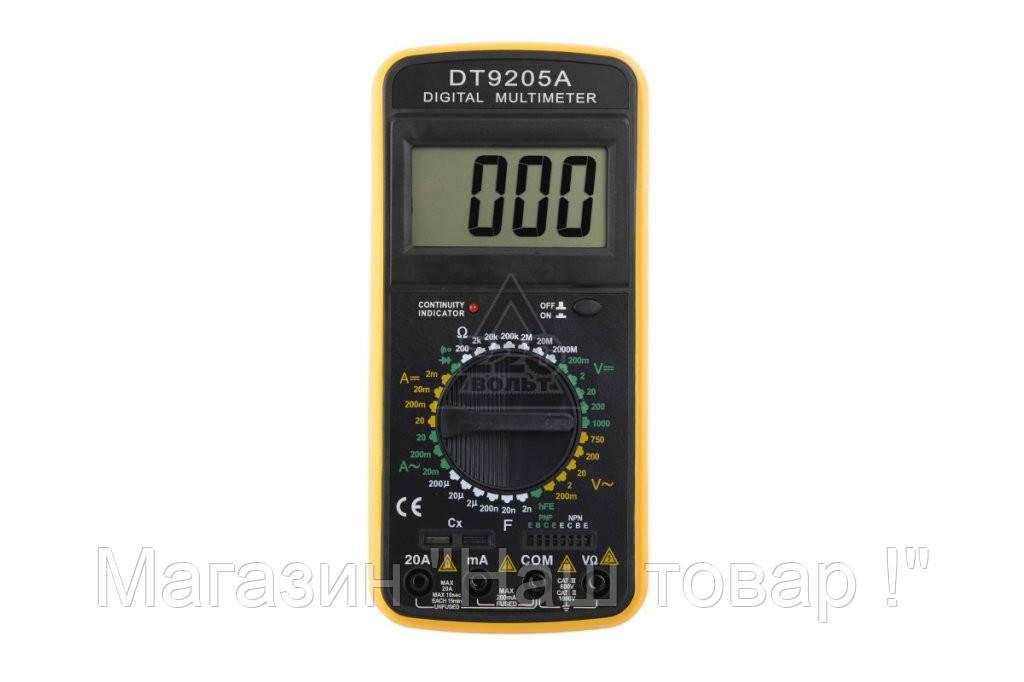 Цифровой тестер мультиметр DT-9205 (A/M)!Акция