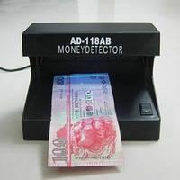 Детектор валют «AD-118AB»  для быстрой проверки валюты!