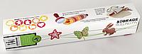 Скалка для раскатки теста с формочками для фигурного печенья Roll and Store Pin!