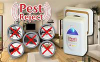 Ультразвуковой электромагнитный отпугиватель насекомых и грызунов Pest Reject!