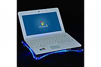 Охлаждающая подставка-кулер для ноутбука, подсветка!