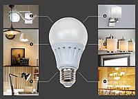 Светодиодная лампа 7W 12LED E27 Энергосберегающая!