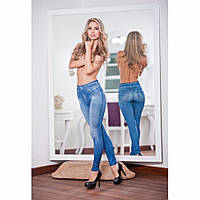 Утягивающие джеггинсы Slim N Lift Caresse Jeans, Корректирующие джинсы, лосины. Лето!Акция