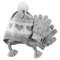 Шапка и перчатки Carter's (CША)