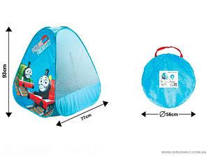 Палатка детская Пирамида «Паравозик» в сумке