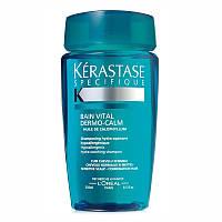 Шампуни Kerastase Шампунь-ванна Kerastase Specifique Bain Vital Dermo-Calm для чувствительной кожи головы и волос комбинированного типа 250 мл