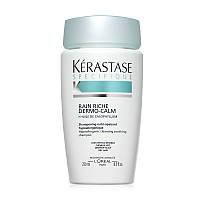 Шампуни Kerastase Шампунь-ванна Kerastase Specifique Bain Riche Dermo-Calm для чувствительной кожи головы и сухих волос 250 мл