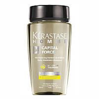 Шампуни Kerastase Ежедневный шампунь-уход для мужчин Kerastase Homme Capital Force Action Vita-Energetique энергетичный 250 мл