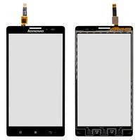 Сенсорный экран для мобильного телефона Lenovo K910 Vibe Z, черный