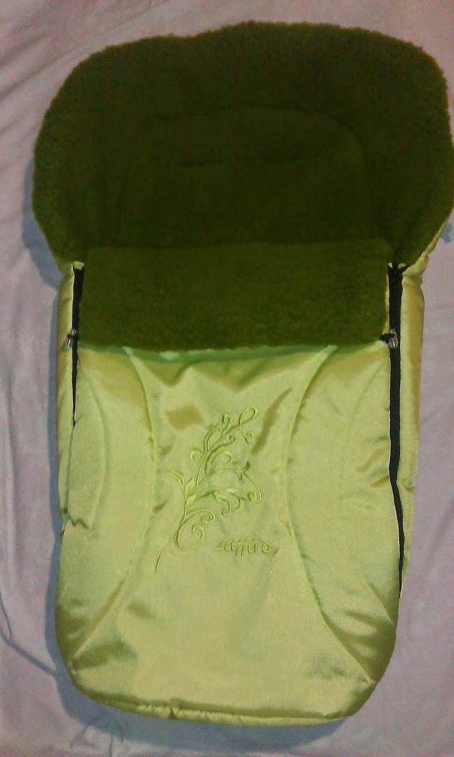 Зимний конверт на крашеной овчине № 43 Zaffiro, Womar