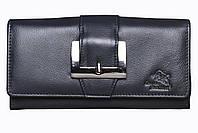 Женский кожаный кошелек-миниклатч Leather Junction