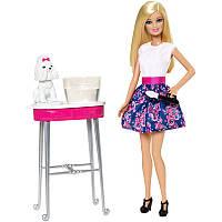 Barbie Барби покрась щенка