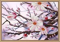Набор для вышивки бисером   Яблоневый цвет      НД 4088