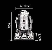 Металлический конструктор 3D puzzle Звездные Войны / Star Wars / Астромеханический дроид R2-D2