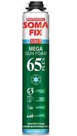 SOMA FIX Пена монтажная, проф MEGA 65 plus 850мл (65л премиум), зима (61874029)