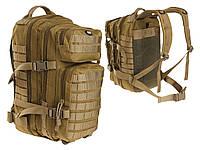 Тактический рюкзак MFH ASSAULT II 23 L - Coyote Brown