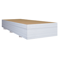 Гипсокартон стеновой 12.5*1200*3000 мм для монтажа перегородок, облицовки стен и потолков Plato Format