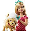 Кукла Barbie купание щенка Барби Splish Splash Pup Playset