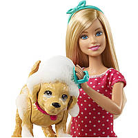 Кукла Barbie купание щенка Барби Splish Splash Pup Playset, фото 1