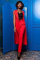 Оригинальный красный костюм Элин  Jadone  42-50  размеры