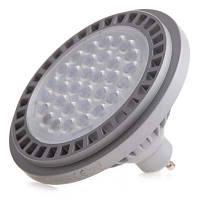 Светодиодная лампа Brille GU10 15W NW AR111-A CCD SMD3020 нейтральный свет