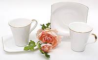 """Чайный сервиз/набор """"Классика"""",  2 чашки 210 мл, 2 блюдца,"""
