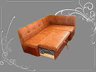 Правосторонний кухонный уголок (Кирпичного цвета), фото 1