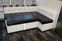 Кухонный уголок со спальным местом и ящиком купить в Киеве.