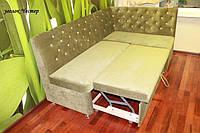 Кухонный мягкий уголок со спальным местом (Салатовый), фото 1