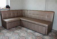 Уголок мягкий на кухню с нишей и спальным местом по размеру кухни., фото 1