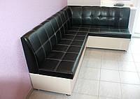 Кухонный уголок с ящиками (Черно-белый)