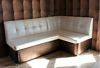 Кухонный уголок со спальным местом (бежево-коричневый)