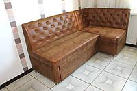 Кухонный уголок со спальным местом (коричневый)