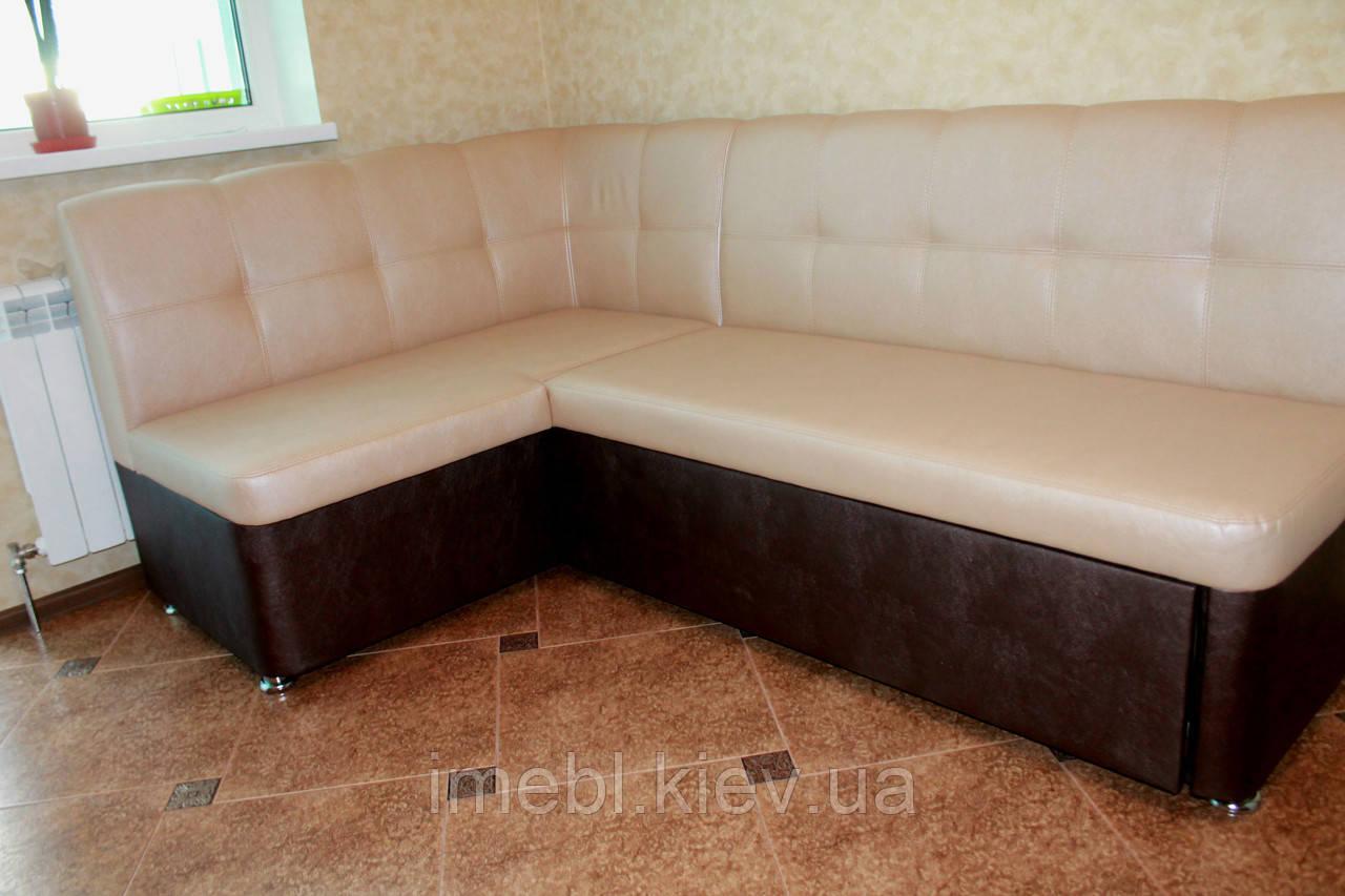 Кухонный раскладной уголок с ящиком для хранения и спальным местом
