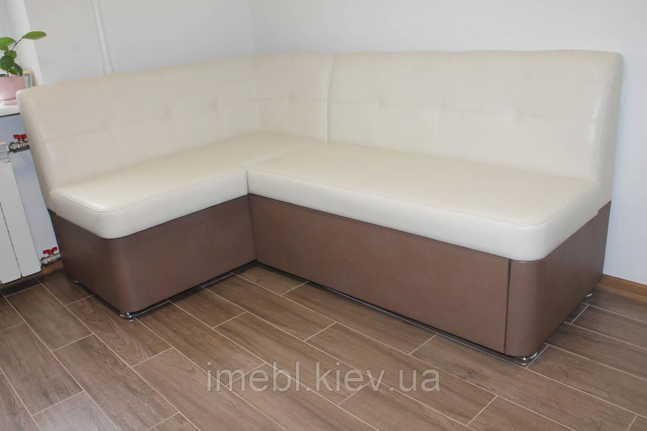 Кухонный уголок со спальным местом (Молочный-какао)
