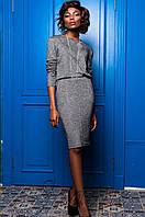 Стильный темно-серый костюм Мирабель   Jadone  42-50  размеры