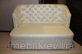 Маленький кухонний диван зі спальним місцем (Перлинний)