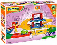 Гараж 2 этажа с дорогой 3,4 м Kid Cars, Wader
