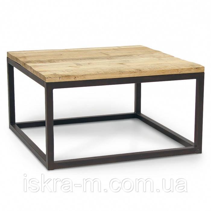 стол журнальный кофейный в стиле лофт цена 3 800 грн купить в