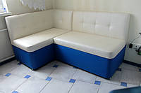 Кухонный уголок с нишами (Молочно-синий)