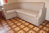 Кухонный уголок со спальным местом и ящиком для хранения под заказ ( капучино )