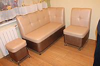 Комплект мягкой кухонной мебели (Перламутровый)